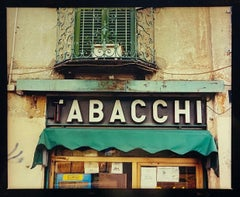 TABACCHI Sign, Milan - Contemporary Typography Sign Pop Art Color Photography