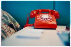 Telephone VI, Ballantines Movie Colony, Palm Springs - Interior Color Photo