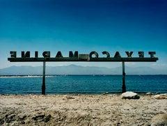 Texaco Marine, North Shore Marina, Salton Sea, California - Landscape Photograph