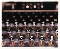 The Enigma Machine, Bletchley Park - British color photography