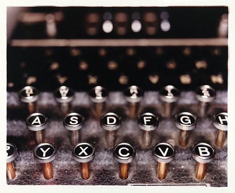 Richard Heeps Color Photograph - The Enigma Machine, Bletchley Park