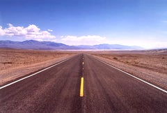 The Road to Death Valley, Mojave Desert, California - Landscape Color Photo