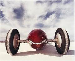 The Rochlitzer's Raspberry Rocket (front), Bonneville, Utah, 2003