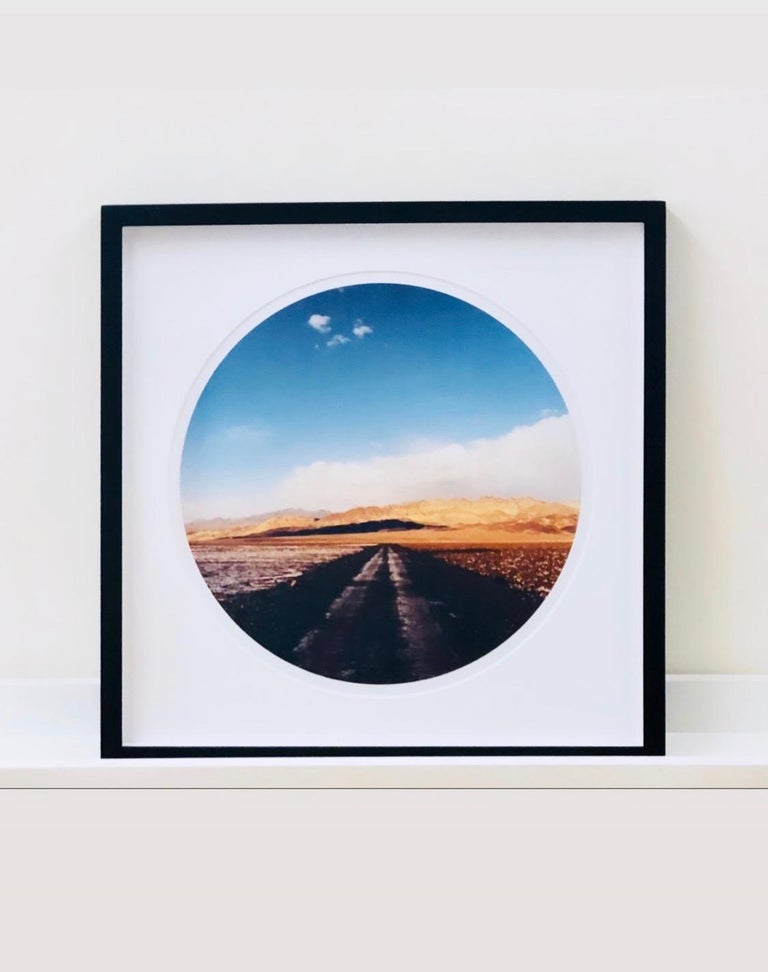 Titled the 'Sundance Series', these artworks are a development of traditional landscape photographs and they have created a unique perspective as if captured through a telescope or a porthole. Photographed in California, Arizona and Utah  these were