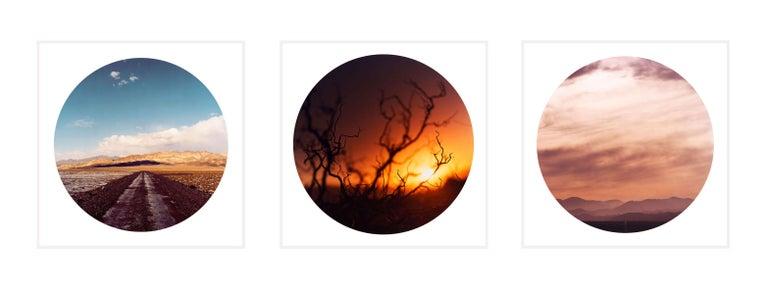 Richard Heeps Color Photograph - The Sundance Series Trio - American landscape color photography