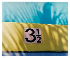 Three & a Half Feet, Palm Springs, California - Palm print color photography