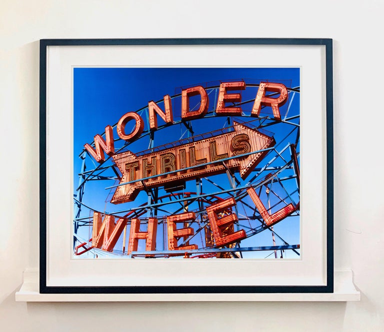 Thrills, Coney Island, New York - Architectural Pop Art Color Photography For Sale 2