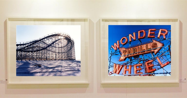Thrills, Coney Island, New York - Architectural Pop Art Color Photography For Sale 5