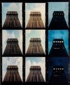 Torre Velasca Time Lapse, Milan - Italian architectural color photography