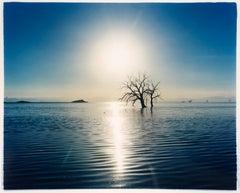 Towards Rock Hill, Bombay Beach, Salton Sea, California - Waterscape Photography