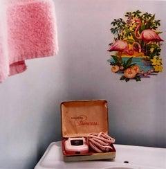 Trailer Bathroom, Bisbee, Arizona - Interior color photography