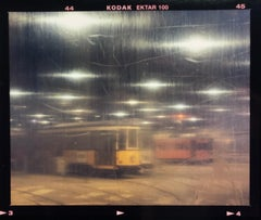 Turro Tram Depot, Milan - Abstract Italian color photography
