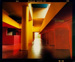 Utopian Foyer II, Milan - Italian architectural urban color photography
