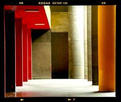 Utopian Foyer, Milan - Architectural urban color photography