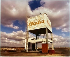 Water Tower - British Bata Warehouse, East Tilbury - Architecture color photo