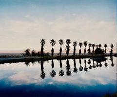Zzyzx Resort Pool, Soda Dry Lake, California - American Landscape Color Photo