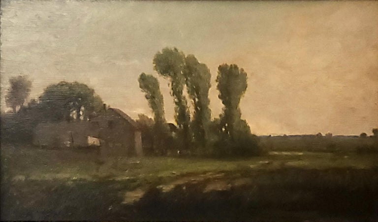 New England Landscape Oil Painting signed by Richard Henry Fuller For Sale 1