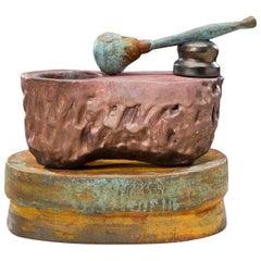 Richard Hirsch Ceramic Mortar and Pestle Sculpture #30, 2009
