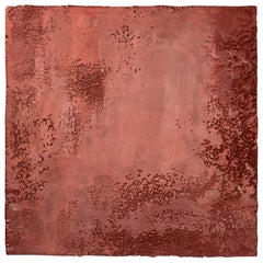 Richard Hirsch Encaustic Painting of Nothing #13M, 2011