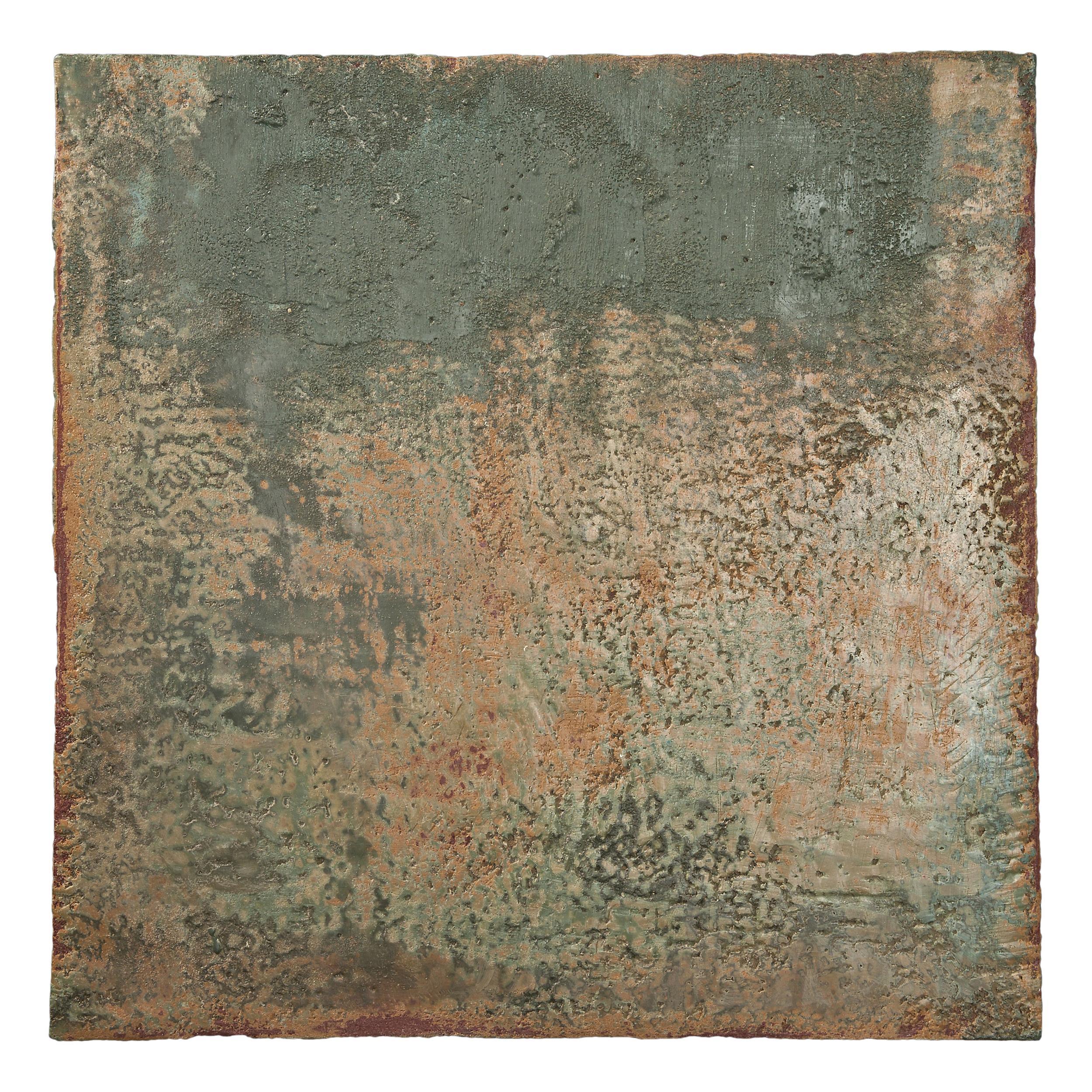 Richard Hirsch Encaustic Painting of Nothing #9, 2011