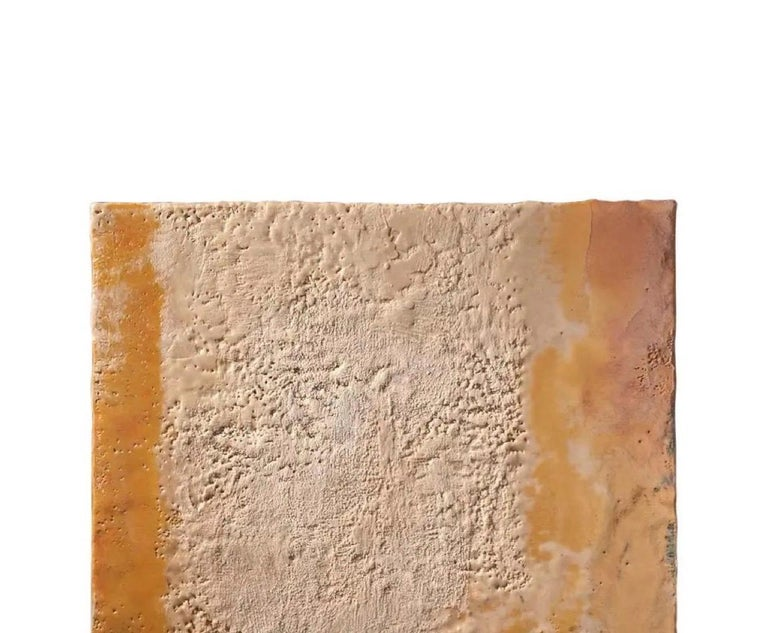 Modern Richard Hirsch Encaustic Painting of Nothing, Painting of Nothing Series, 2012 For Sale
