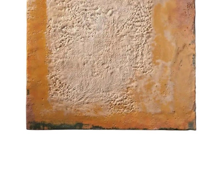 American Richard Hirsch Encaustic Painting of Nothing, Painting of Nothing Series, 2012 For Sale