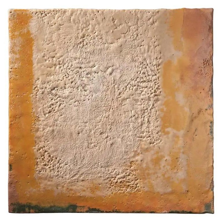 Richard Hirsch Encaustic Painting of Nothing, Painting of Nothing Series, 2012 In Excellent Condition For Sale In New York, NY