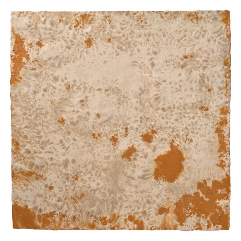Richard Hirsch Encaustic Painting of Nothing, Painting of Nothing Series, 2012 For Sale