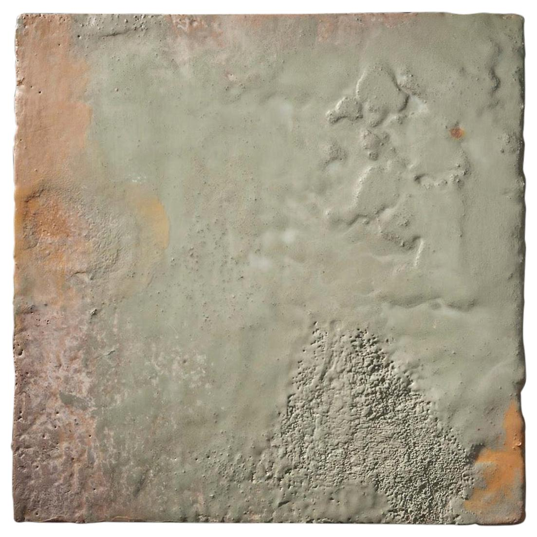 Richard Hirsch Encaustic Painting of Nothing, Painting of Nothing Series, 2013