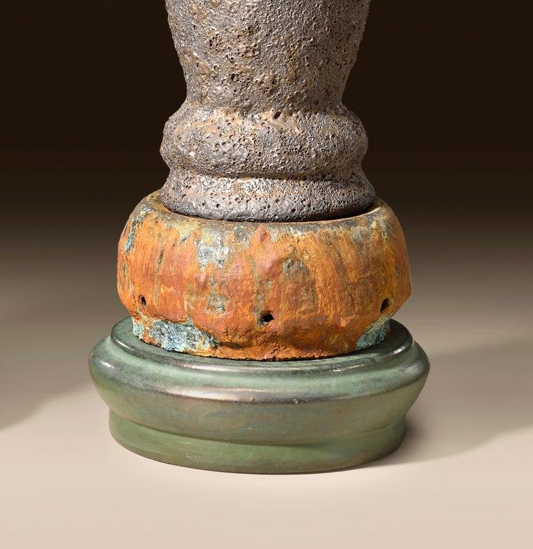 Richard Hirsch Glazed Ceramic Crucible Sculpture Group #1, 2016 For Sale 3