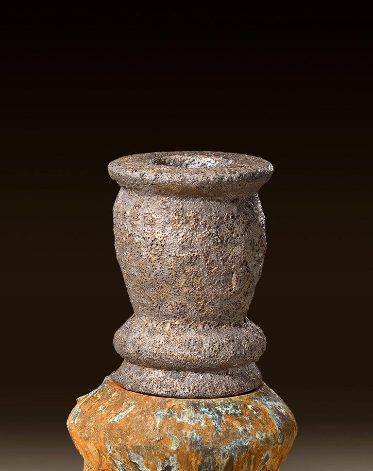 Richard Hirsch Glazed Ceramic Crucible Sculpture Group #1, 2016 For Sale 7