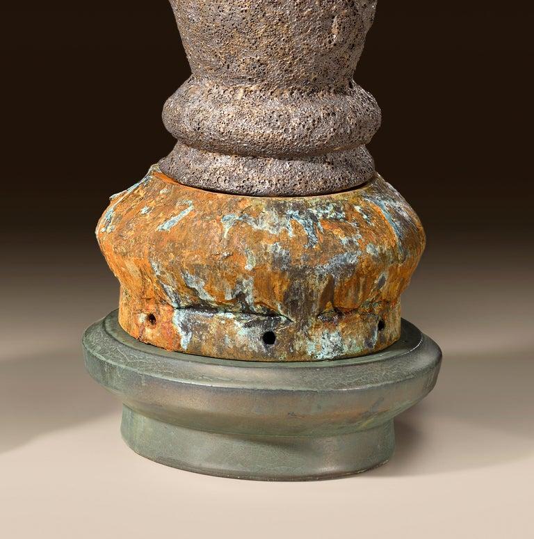 Richard Hirsch Glazed Ceramic Crucible Sculpture Group #1, 2016 For Sale 8