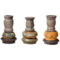 Richard Hirsch Glazed Ceramic Crucible Sculpture Group #2, 2016