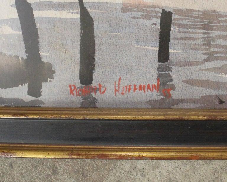 American Richard Hoffman Painting For Sale