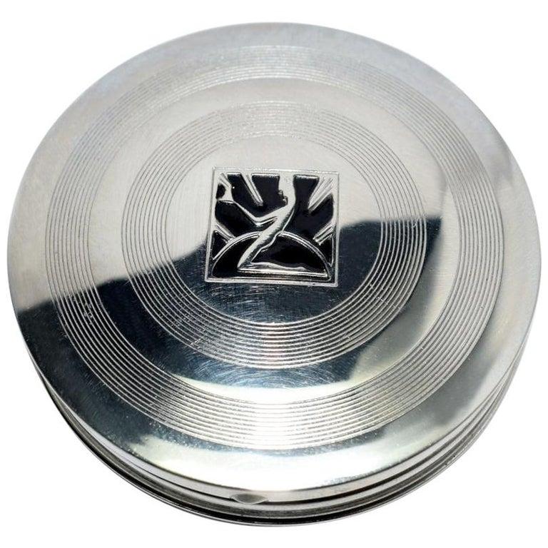 Richard Hudnut Silver Compact