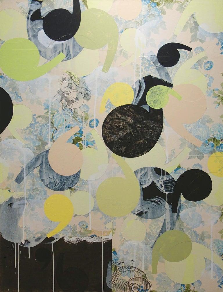 "Richard Hutter, ""Hattock"", 2005, 48"" x 36"" 1"