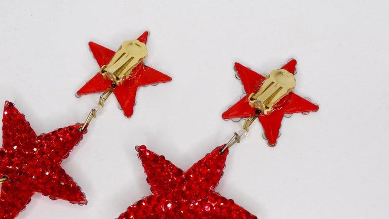 Women's Richard Kerr Star Dangle Earrings