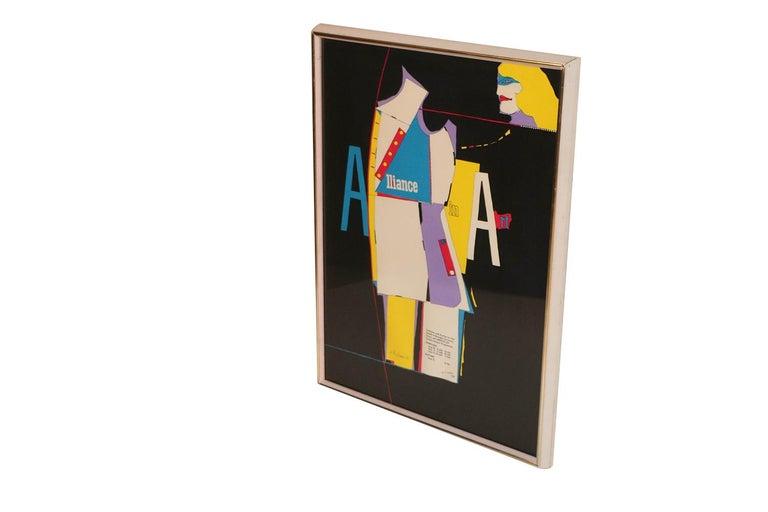 Richard Lindner Pop Art Silkscreen Alliance in Art, 1968 For Sale 1