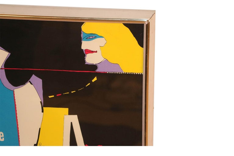 Richard Lindner Pop Art Silkscreen Alliance in Art, 1968 For Sale 2