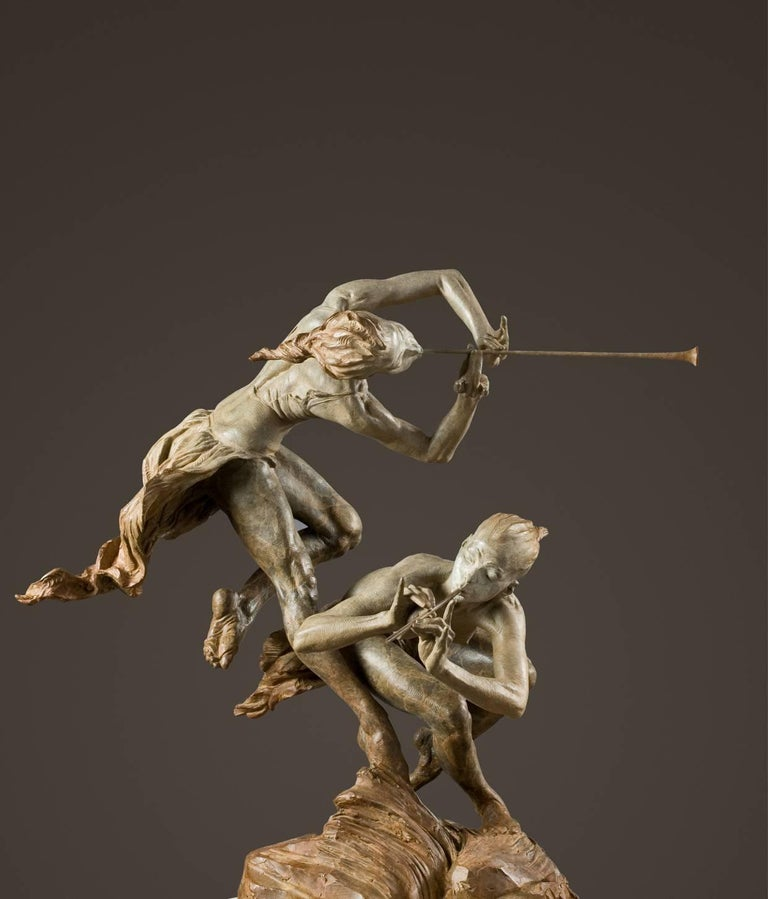 Joie de Femme, Atelier - Sculpture by Richard MacDonald