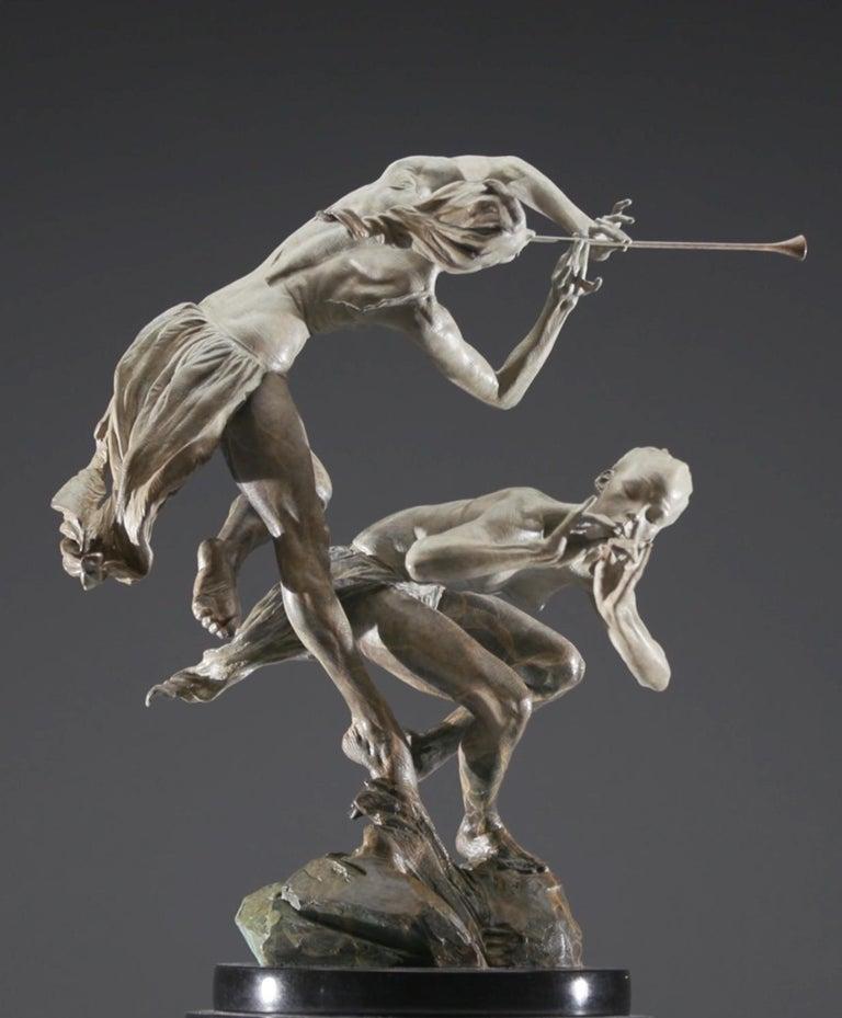 Richard MacDonald Figurative Sculpture - Joie de Femme, Atelier