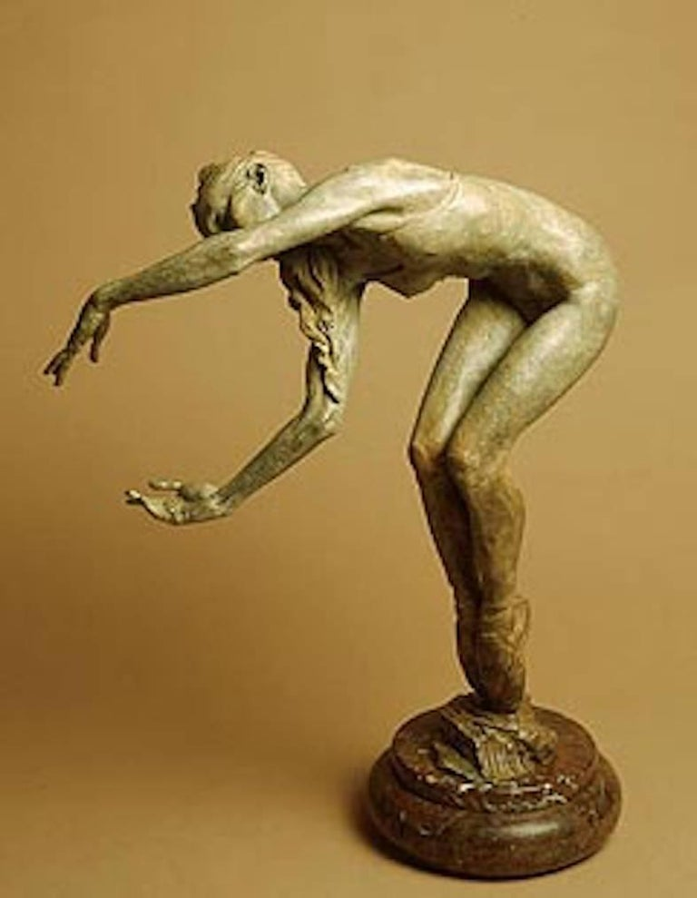 Richard MacDonald Figurative Sculpture - Juliet, Third Life