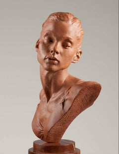Katherine Bust, Terracotta Resin