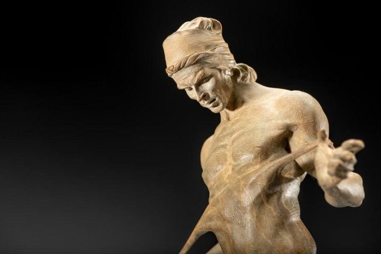 Nureyev, Atelier - Sculpture by Richard MacDonald