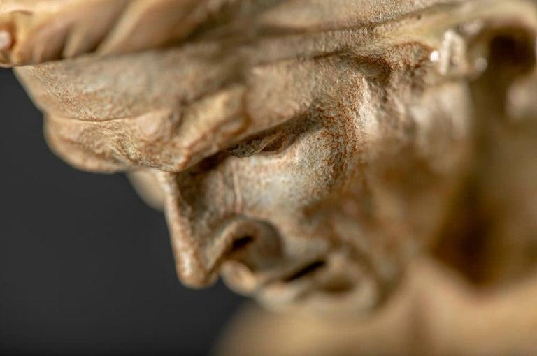 Nureyev, Atelier - Gold Figurative Sculpture by Richard MacDonald