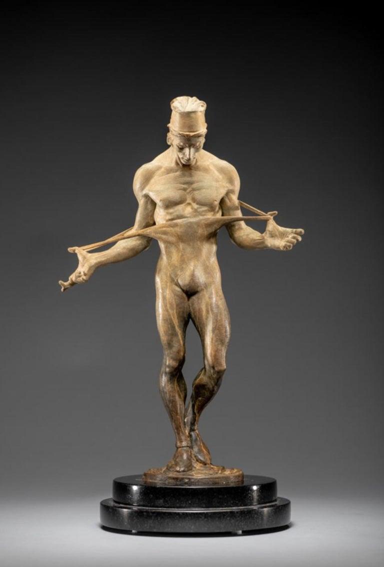 Richard MacDonald Figurative Sculpture - Nureyev, Atelier