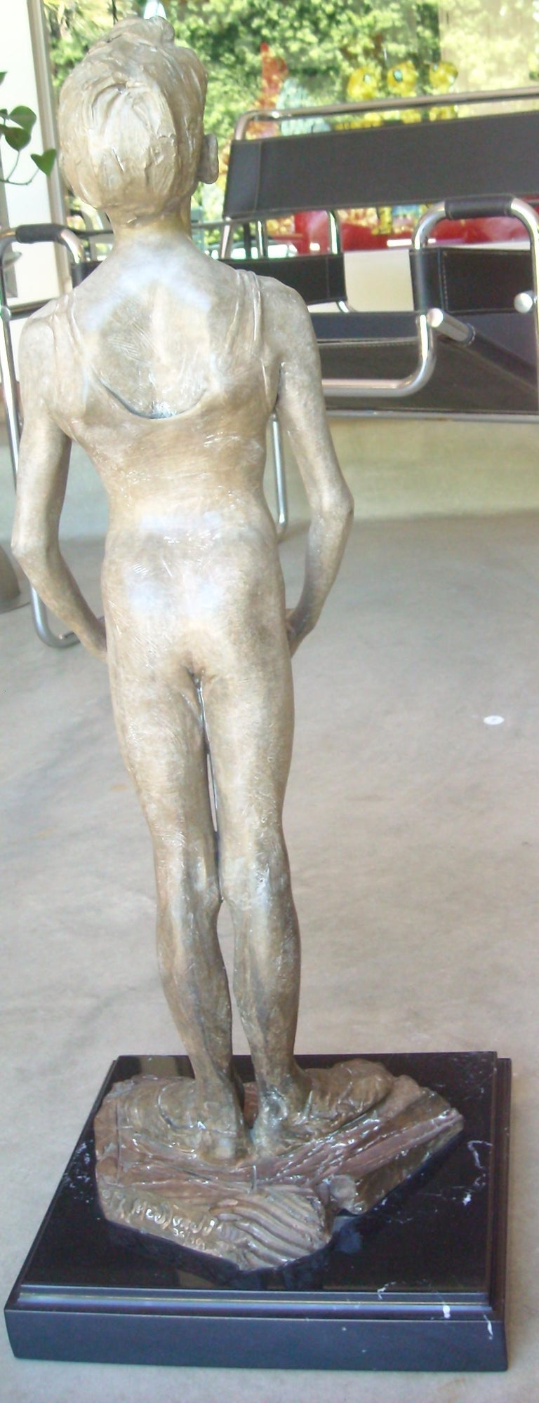 Post-Modern Richard Macdonald Bronze Sculpture, Signed, Numbered For Sale