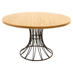 Richard McCarthy for Selrite Style Formica & Iron Mid Century Dining Table