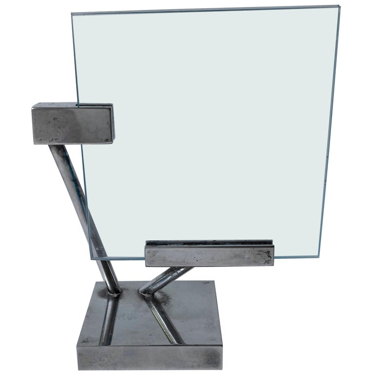 Richard Meier for Swid Powell, Very Rare Silver Plate Picture Frame, Marked RM For Sale
