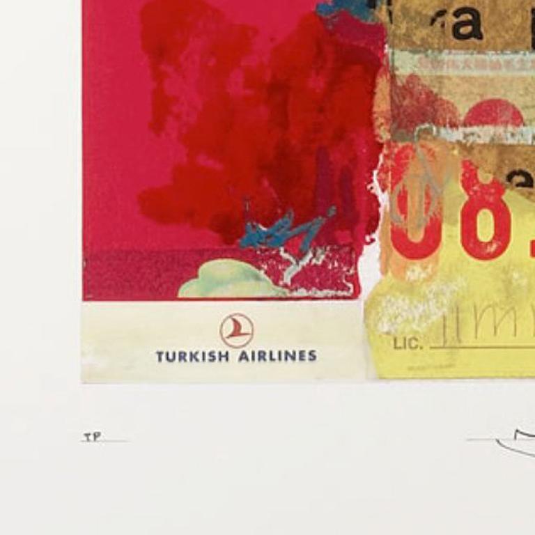 Taberbacle - Beige Figurative Print by Richard Meier